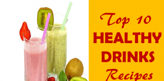 Top 10 Healthy Drinks Recipes