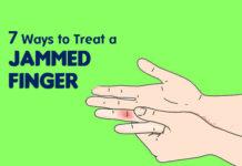 get rid of jammed finger