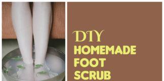 DIY Homemade Foot Scrub