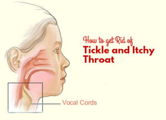 How to get Rid of Tickle and Itchy Throat