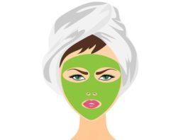 DIY homemade green tea face mask