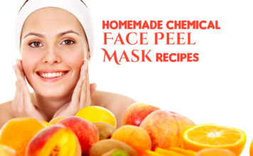 Effective Chemical Face Peel Mask Recipes