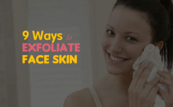 How to exfoliate face skin and face