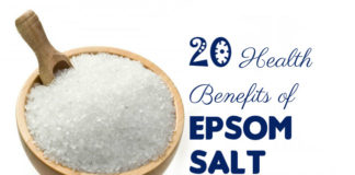 Health Benefits of Epsom Salt
