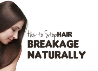 how to stop hair breakage naturally at home