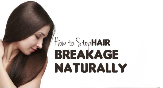 how to stop hair breakage naturally