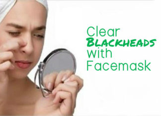 Clear Blackheads with Facemask