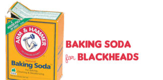 baking soda for blackheads