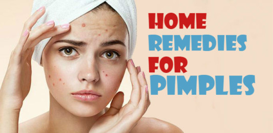 home remedies for pimples using natural ingredients