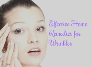 How to get rid of wrinkles using home remedies