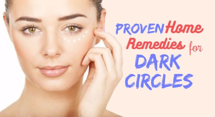 home remedies dark circle under eyes