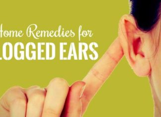 how to get rid for clogged ears