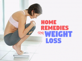 get rid of weight loss using home remedies