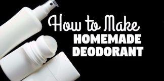 How to make homemade deodorant