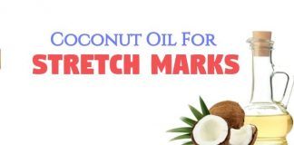 How to use coconut oil for stretch marks