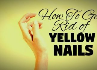 home remedies to get rid of yellow nails naturally