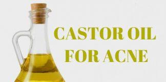 use castor oil for acne