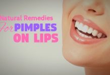 Excellent Home Remedies for Pimples on Lips That Work