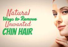 Natural Ways to Remove Unwanted Chin Hair at home