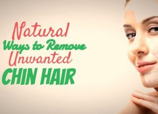 Natural Ways to Remove Unwanted Chin Hair at home