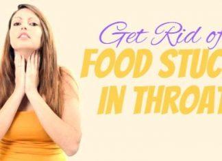 Food Stuck In Throat