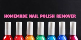 Homemade Nail Polish Remove